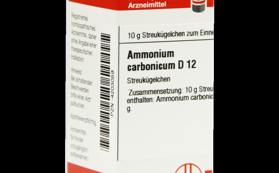ऐमोनियम कार्बोनिकम ( Ammonium Carbonicum ) का गुण, लक्षण
