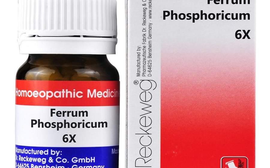 फेरम फास्फोरिकम – Ferrum Phosphoricum Benefits In Hindi