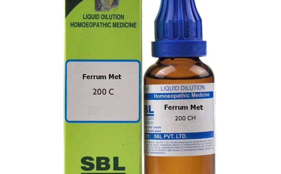 फेरम मेटेलिकम – Ferrum Metallicum