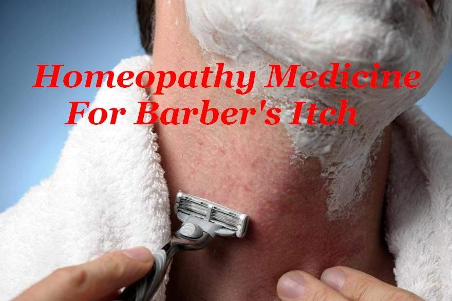 Homeopathy Medicine For Barber's Itch In Hindi [ नाई की खुजली का होम्योपैथिक दवा ]