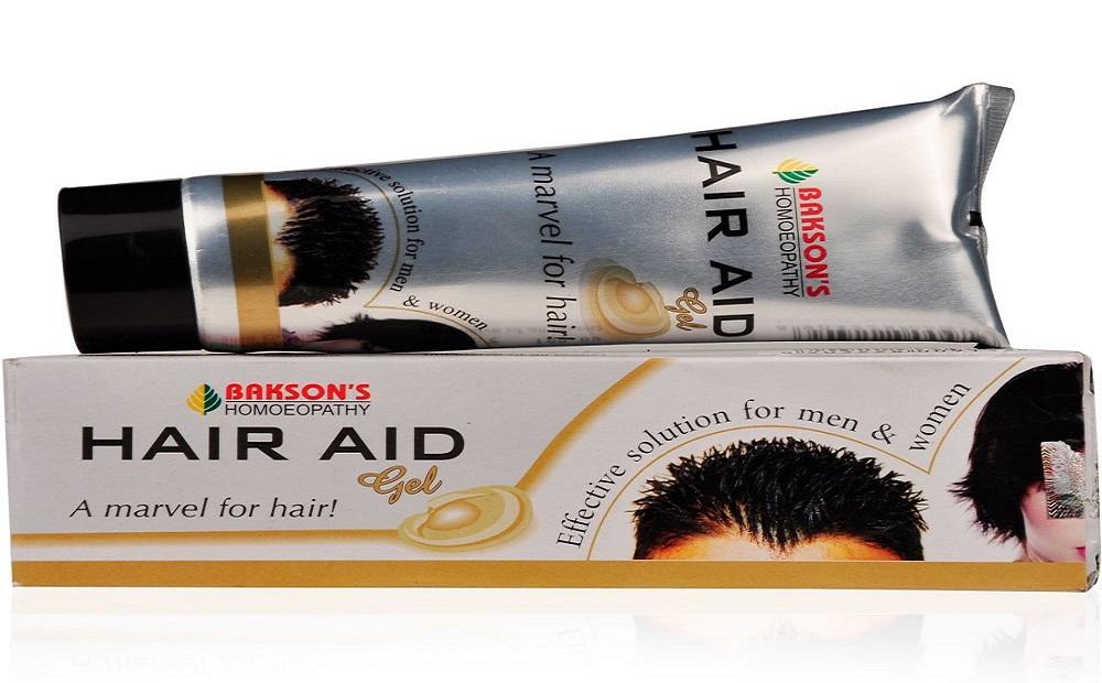Hair Style Gel: Baksons Hair Aid Gel In Hindi [ होम्योपैथिक में Hair Style